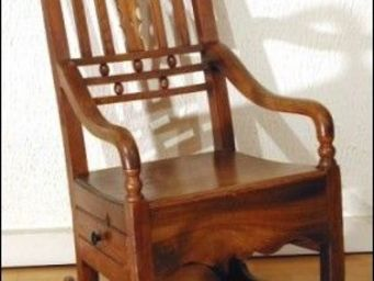ANTIQUE GERMAIN -  - Rocking Chair