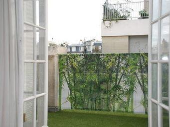 VISUA - brise vue bambou - Toile Décorative D'extérieur
