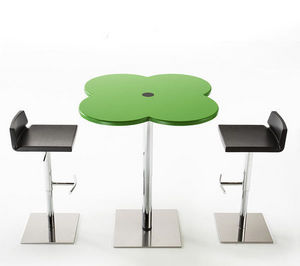 IBEBI DESIGN - ippo flower - Table Bistrot R�glable