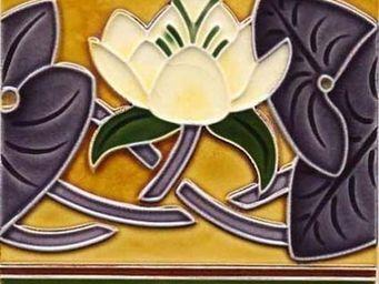 Replicata - bordürenfliese seerose - Carrelage Mural