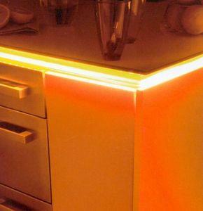Id Lumiere - flex ambiance monochrome - Eclairage Plan De Travail