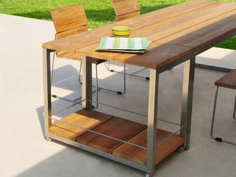 MAMAGREEN -  - Table Roulante De Jardin