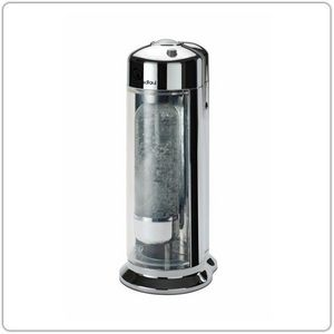 TOOSHOPPING - soda drink chromé brillant - Machine À Gazéifier L'eau