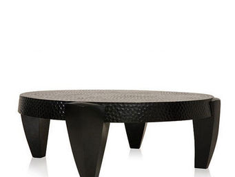 LODGE COLLECTION - croc table - Table Basse Ronde