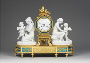 F P FINE ART - clock - Horloge À Poser