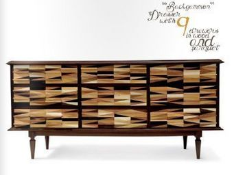 GEZO MARQUES - backgammon side board - Enfilade
