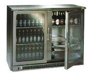 Electro-Refrigeration Services - double door drinks cabinet - Mini Réfrigérateur
