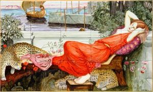 Art On Tiles - classical - ariadne - Carrelage Mural