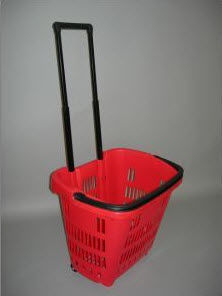 Smart shopfittings - roller basket - Panier À Roulettes
