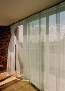 Salt - floats sliding panels - Panneau De Tissu