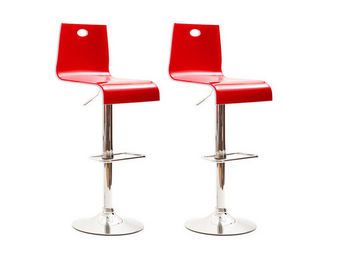 Miliboo - saturne double layer tabouret - Tabouret De Bar
