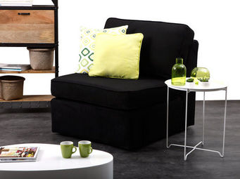 Miliboo - up to you chauffeuse 80 coton - Fauteuil