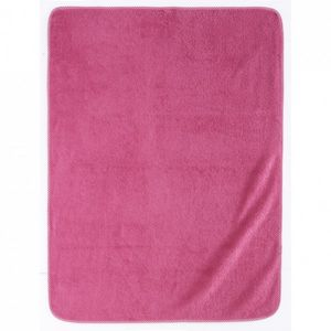 Essix home collection - serviette de bain elliot et manon - cyclamen - 75x - Serviette De Toilette Enfant