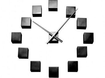 Karlsson Clocks - karlsson - horloge diy cubic - karlsson - noir - Horloge Murale