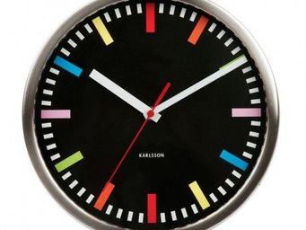 Karlsson Clocks - karlsson - horloge rainbow - karlsson - - Horloge Murale