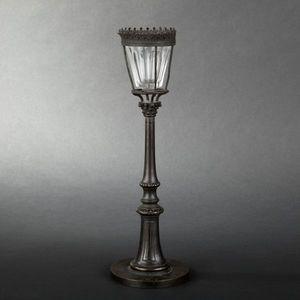 Expertissim - veilleuse en bronze patiné du xixe siècle - Veilleuse
