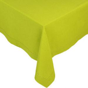 Maisons du monde - nappe unie verte 250x150 - Nappe Rectangulaire