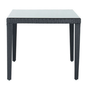 Maisons du monde - table � d�ner carr�e miami - Table De Repas Rectangulaire