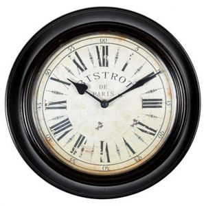 Maisons du monde - horloge bistrot - Horloge Murale