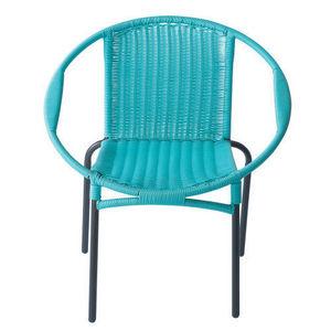 Maisons du monde - fauteuil turquoise rio - Fauteuil De Jardin