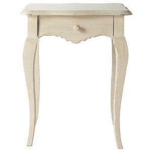 Maisons du monde - chevet cr�me honor� - Table De Chevet