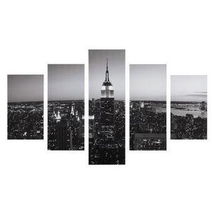 Maisons du monde - toile destructurée new york city - Tableau Décoratif