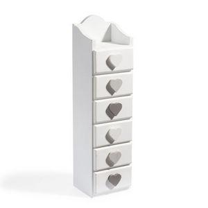 Maisons du monde - boîte de rangement demeure 6 tiroirs - Colonne De Rangement