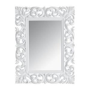 Maisons du monde - miroir rivoli blanc 90x7 - Miroir