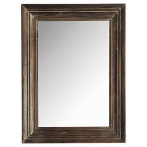 Maisons du monde - miroir esterel foncé 60x80 - Miroir