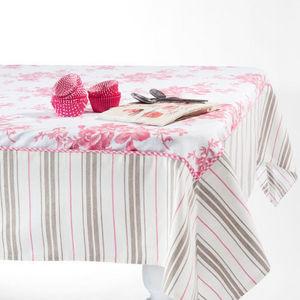 Maisons du monde - nappe roseraie 150x250 - Nappe Rectangulaire