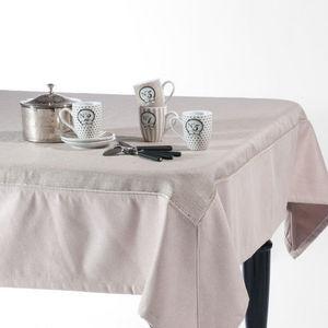 Maisons du monde - nappe gstaad 150x250 - Nappe Rectangulaire