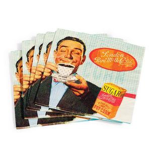 Maisons du monde - serviette coffee break x 20 - Serviette En Papier
