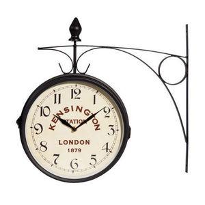 Maisons du monde - horloge kensington applique métal - Horloge De Cuisine