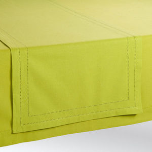 Maisons du monde - chemin de table uni vert - Chemin De Table