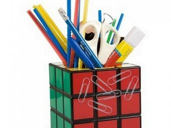 Manta Design - pot � crayons rubik cube - Pot � Crayons