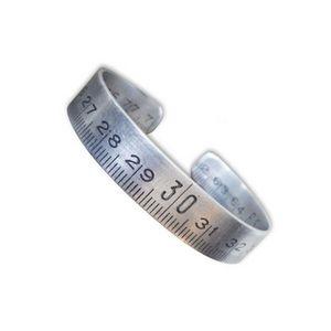 NINA IMAGINE... - bracelet fantaisie en métal - mètre de soi - Bracelet