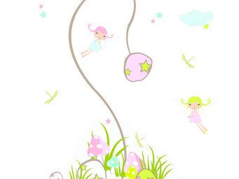 LILI POUCE - stickers la danse des f�es - Sticker D�cor Adh�sif Enfant
