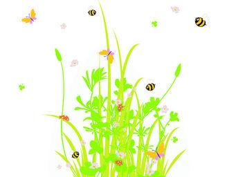 LILI POUCE - stickers les abeilles de printemps - Sticker D�cor Adh�sif Enfant