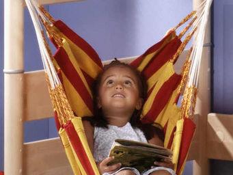 La Siesta - chaise hamac pour enfant chica rouge et jaune - Hamac Chaise