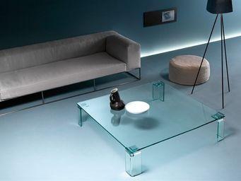 Fiam - newton tavolino - Table Basse Forme Originale