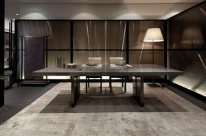 Armani Casa - trocadero - Table De Repas Rectangulaire