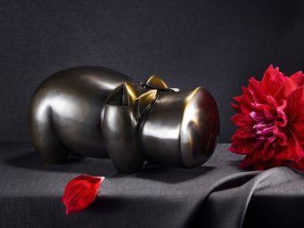 Delisle - hippopotame - Sculpture Animali�re