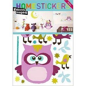 Nouvelles Images - stickers adhésif hibou et compagnie nouvelles imag - Sticker