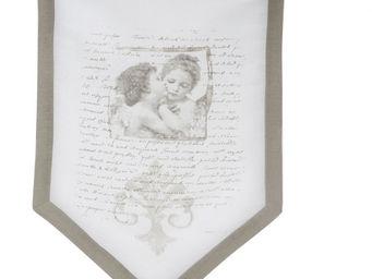 Mathilde M - brise-bise anges amoureux 45 x 70 cm - Brise Bise