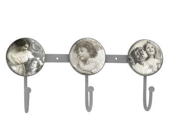Mathilde M - crochet triple carrés d'anges - Patère