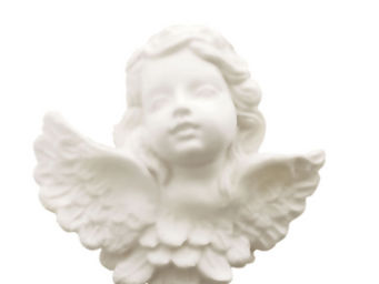 Mathilde M - savon tête d'angelot, parfum poussière d'etoile - Porte Savon À Poser