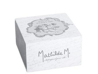 Mathilde M - boîte savon rond ange, parfum fleur de dentelle - Savon