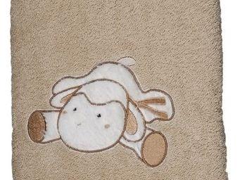 SIRETEX - SENSEI - serviette 50x90cm brodée doudou mouton - Serviette De Toilette Enfant