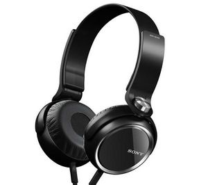 SONY - casque mdr-xb400 - noir - Casque