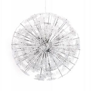 WHITE LABEL - lampe suspension design snow - Suspension